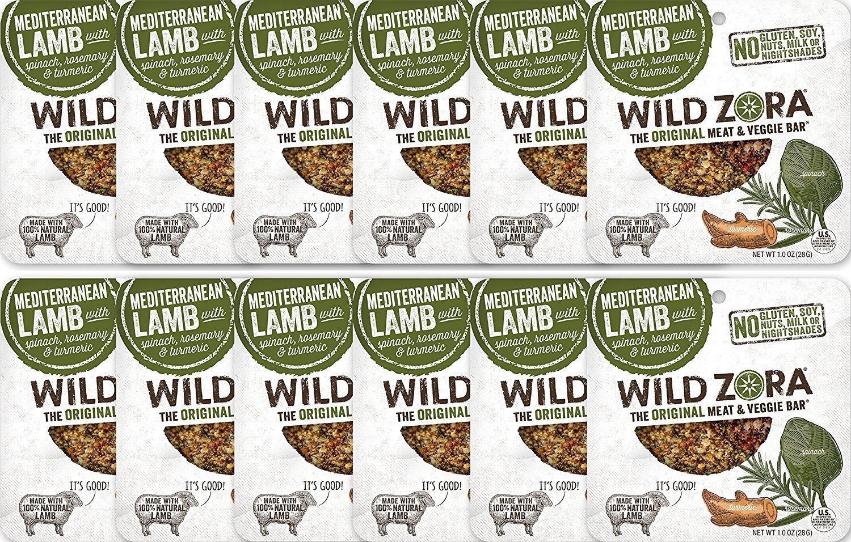 Wild Zora Mediterranean All Natural Veggie Lamb National products Bars Ranking TOP16 Organic
