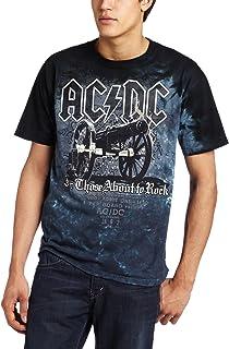 Liquid Blue Men's AC/DC Cannon T-Shirt