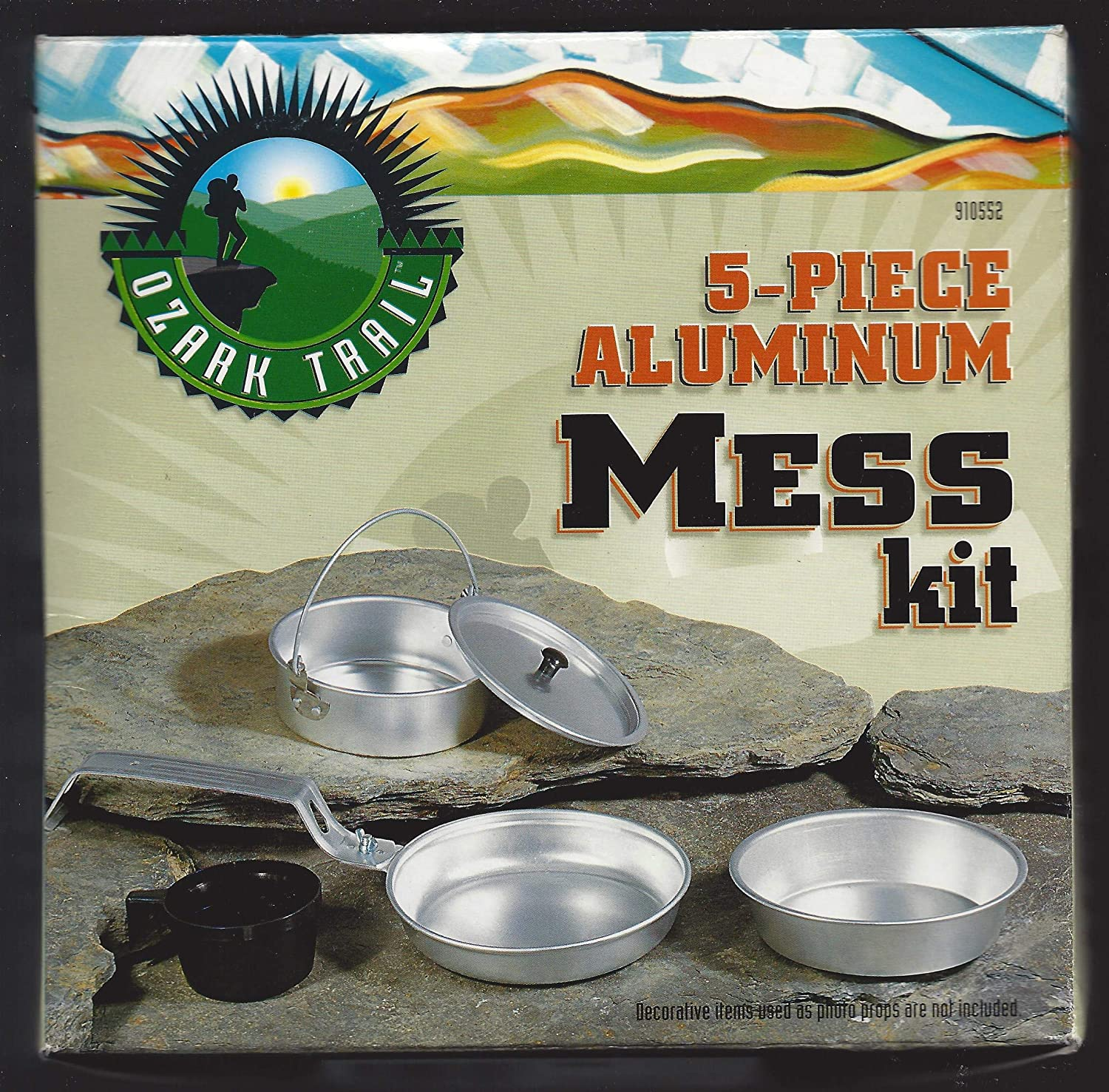 Ozark Trail Limited time cheap sale 5 - Mess Piece Kit Aluminum Chicago Mall