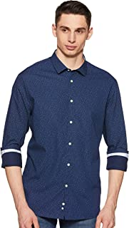 Celio Mens Printed Casual Shirt