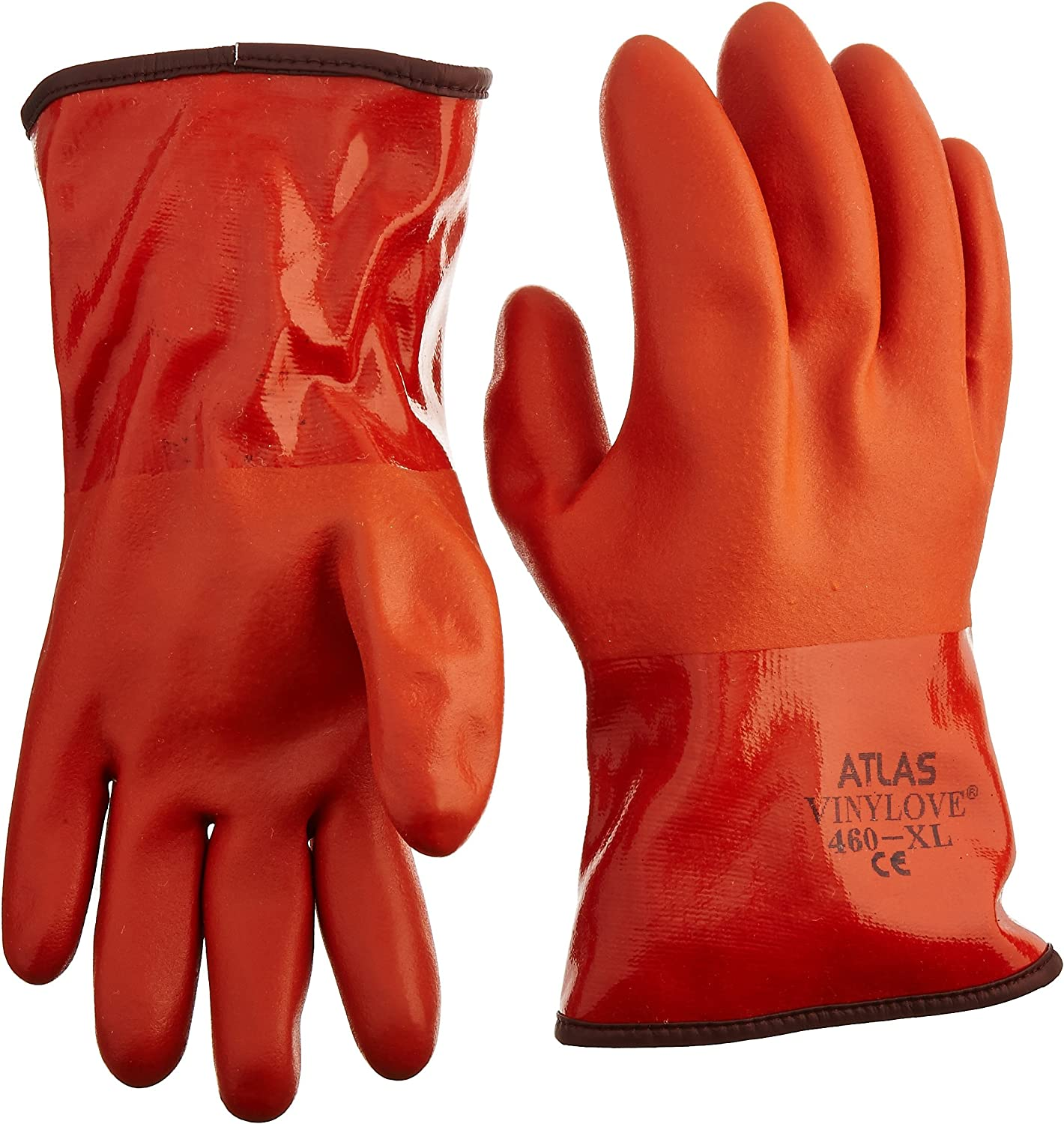 Showa Atlas 460 Nashville-Davidson Mall Vinylove Cold Gloves Resistant - Large special price Insulated X-Lar