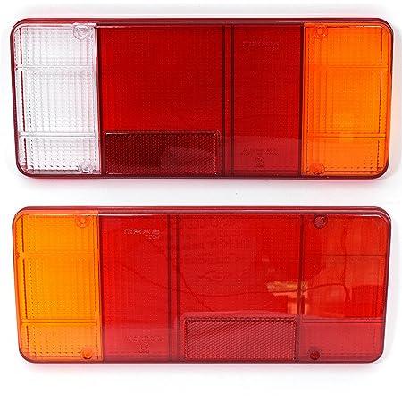 2x Lichtscheibe Heckleuchte Links Rechts Ersatzglas Für Rückleuchte Auto