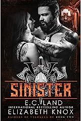 Sinister (Raiders of Valhalla MC Book 2) Kindle Edition