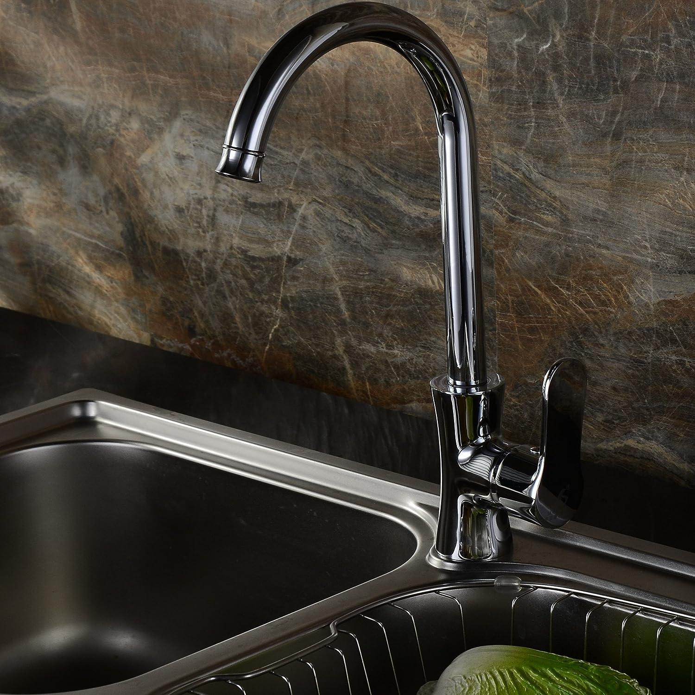Gyps Faucet Waschtisch-Einhebelmischer Waschtischarmatur BadarmaturKüche Wasserhahn Waschen Wasser Armaturen Küche Küche Spüle Wasserhahn gebürstet Küche Wasserhahn,Mischbatterie Waschbecken