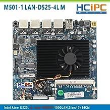 HCIPC M501-1 LAN-D525-4L,Atom D525 INTEL 82583V 4Lan Mini Firewall Motherboard,Industrial Motherboard,Embedded Motherboard,Multi-LAN motherboard,mini ITX motherboard,4LAN Motherboard