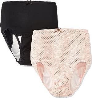 Rosemadame 【生产准备品】产褥内裤 清洗方便/可选择2条装 115-2810-01 F粉色圆点+黑色 纯色 M-L