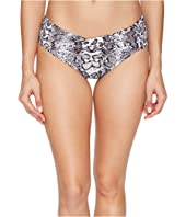 Tommy Bahama - Snake Charmer Twist Front High Waist Bottom