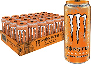 Ultra Sunrise, Sugar Free Energy Drink, 16 Ounce (Pack of 24)