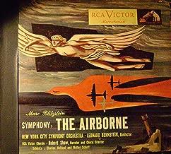 Bernstein : Blitzstein's Airborne Symphony, Robert Shaw, Charles Holland, Walter Scheff 78 rpm Set