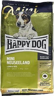 HAPPY DOG (ハッピードッグ) スプリーム・ミニ ニュージーランド (ラム&ライス) 消化器ケア グルメで敏感な成犬用ドライフード 小型犬用 (1kg)