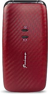 """Doro Primo 401 360072 Mobiltelefon, Röd 2"""""""