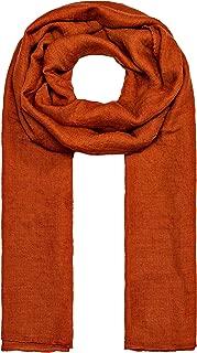 MANUMAR Schal für Damen einfarbig   Hals-Tuch in Uni-Farben als perfektes Sommer- Accessoire   Klassischer Damen-Schal   Stola   Mode-Schal   Geschenkidee für Frauen und Mädchen