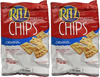 Ritz Toasted Chips (2 Pack) 8.1 OZ EACH