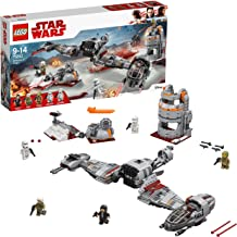 LEGO Star Wars- Defense of Crait Lego Juego de Construcción, Multicolor, única (75202)