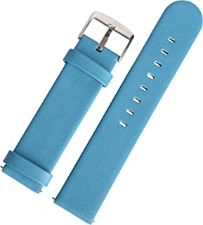 SWISS REIMAGINED 5 Fashion Colors Quick Release Quality Genuine Nappa Leather Replacement Watch Band Strap