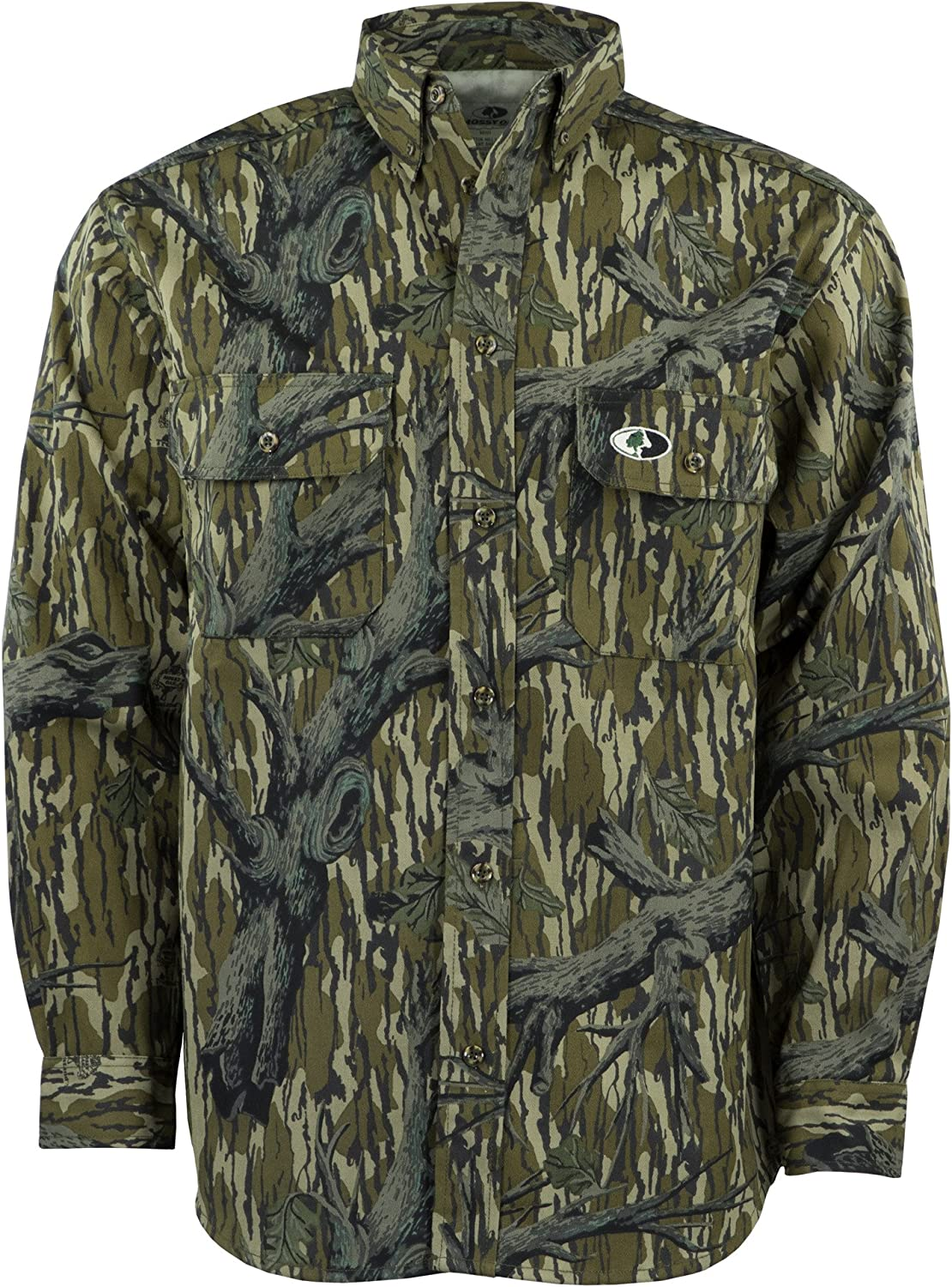 Mossy Oak Men's Camouflage Shirt Mill Cotton Max 44% OFF Max 74% OFF Hunt