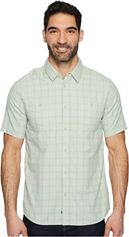 Quiksilver Waterman - Wake Plaid 2 Short Sleeve Shirt