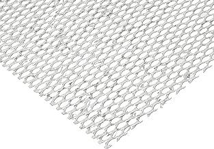 Steel Flat Expanded Sheet, Zinc Galvanized Finish, 24