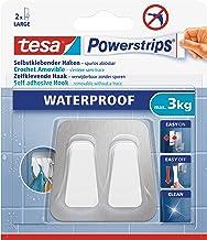 tesa Powerstrips Waterproof Duo Hook metal-plastic
