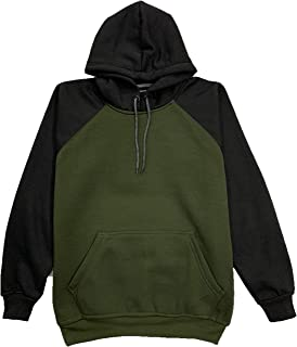 Elemento Men's Solid Hoodie