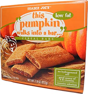 Sponsored Ad - Trader Joes This Pumpkin Walks Into A Bar... Cereal Bars