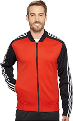 Sport ID Track Mixed Bomber Jacket