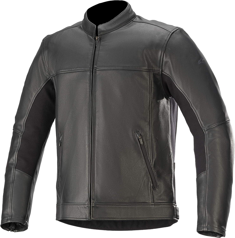 Alpinestars Men's Topanga Leather 2X-L Motorcycle Black free shipping Free Shipping Cheap Bargain Gift Jacket