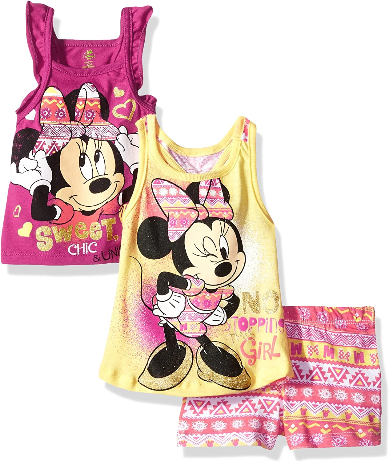 Handmade new minnie mouse shorts size 4-5T girls toddlers dresses pants ready to ship free shipping red black yellow white summer wear