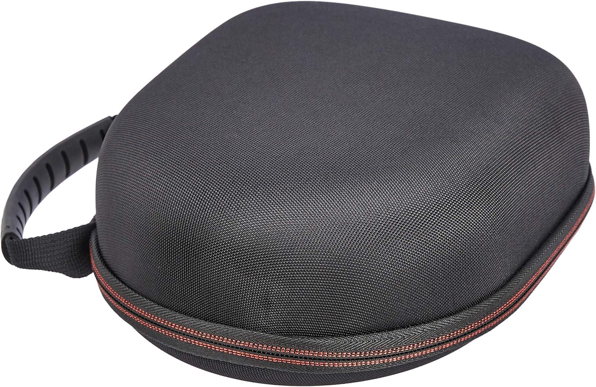 Amazon Basics Hard Headphone Carrying Case - Compatible with Audio-Technica Headphones, Black
