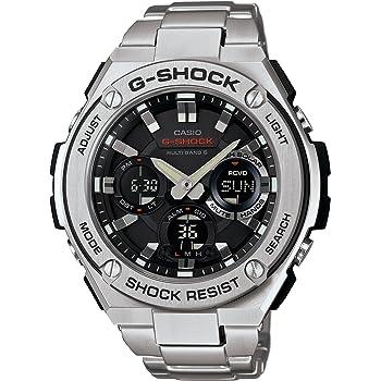 [カシオ] 腕時計 ジーショック G-STEEL 電波ソーラー GST-W110D-1AJF シルバー