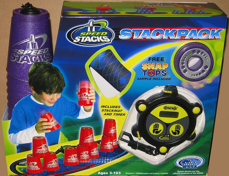 trend rank Speedstack METALLIC PURPLE Plastic C Stackpack Metallic Stacking New product type