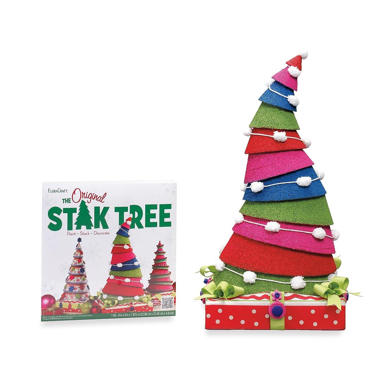 FloraCraft Styrofoam Kit Stak Tree 24 Inch White