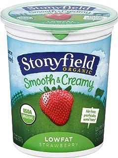 Stonyfield Farm Organic Strawberry Yogurt, 32 Ounce -- 6 per case.