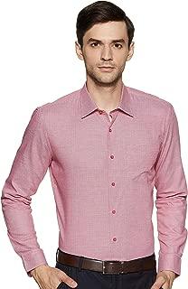 John Miller Men's Printed Slim fit Formal Shirt