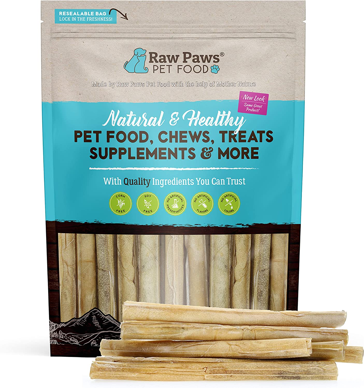 Raw Paws Pet Premium High quality new 10-inch Compressed for Rawhide Dogs Sticks OFFicial shop
