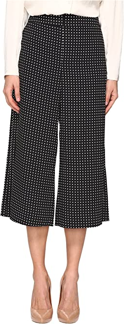 Pin Dot Crepe Culotte