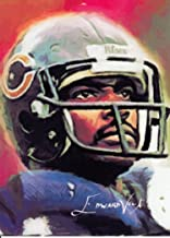 Walter Payton #5- #49/100 - RARE - Chicago Bears - VELA -NFL HALL OF FAME- Limited Edition Original Artwork Sketch Card - NOW FREE SHIPPING!