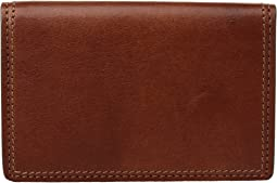 Dolce Collection - Full Gusset Two-Pocket Card Case w/ I.D.