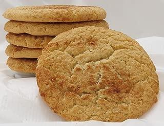 Homemade Snickerdoodle Cookies - 1/2 Dozen