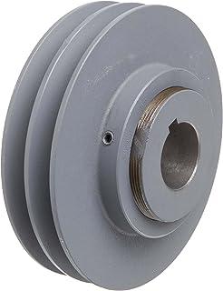 4.45 Outside Body Diameter TB Woods BK47118 FHP Bored-To-Size 1.125 Bore Diameter V-Belt Sheave