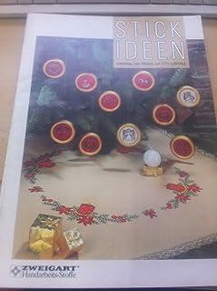 Stickideen Anleitung zum Sticken auf 3770 DAVOSA - Stick-Ideen für die Advents- und Weihnachtszeit. Sie stimmen kreativ und auf lange Winterabende ein.