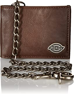 Dickies Men's Leather Slimfold Wallet