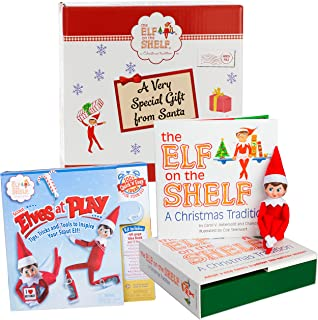 Elf On The Shelf Gift Set - Elves At Play 15 Piece Tool Set With Girl Elf - In Gift Box Direct From North Pole