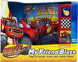 Nickelodeon Blaze and the Monster Machines - My Friend Blaze Play-a-Sound Book and Cuddly Blaze Plush - PI Kids