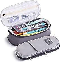Mr. Pen- Pencil Case, Pencil Pouch, Grey, Pen Bag, Pencil Case Organizer, Pencil Pouch Large, Large Pencil Bag, School Sup...