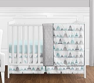 aztec print crib bedding