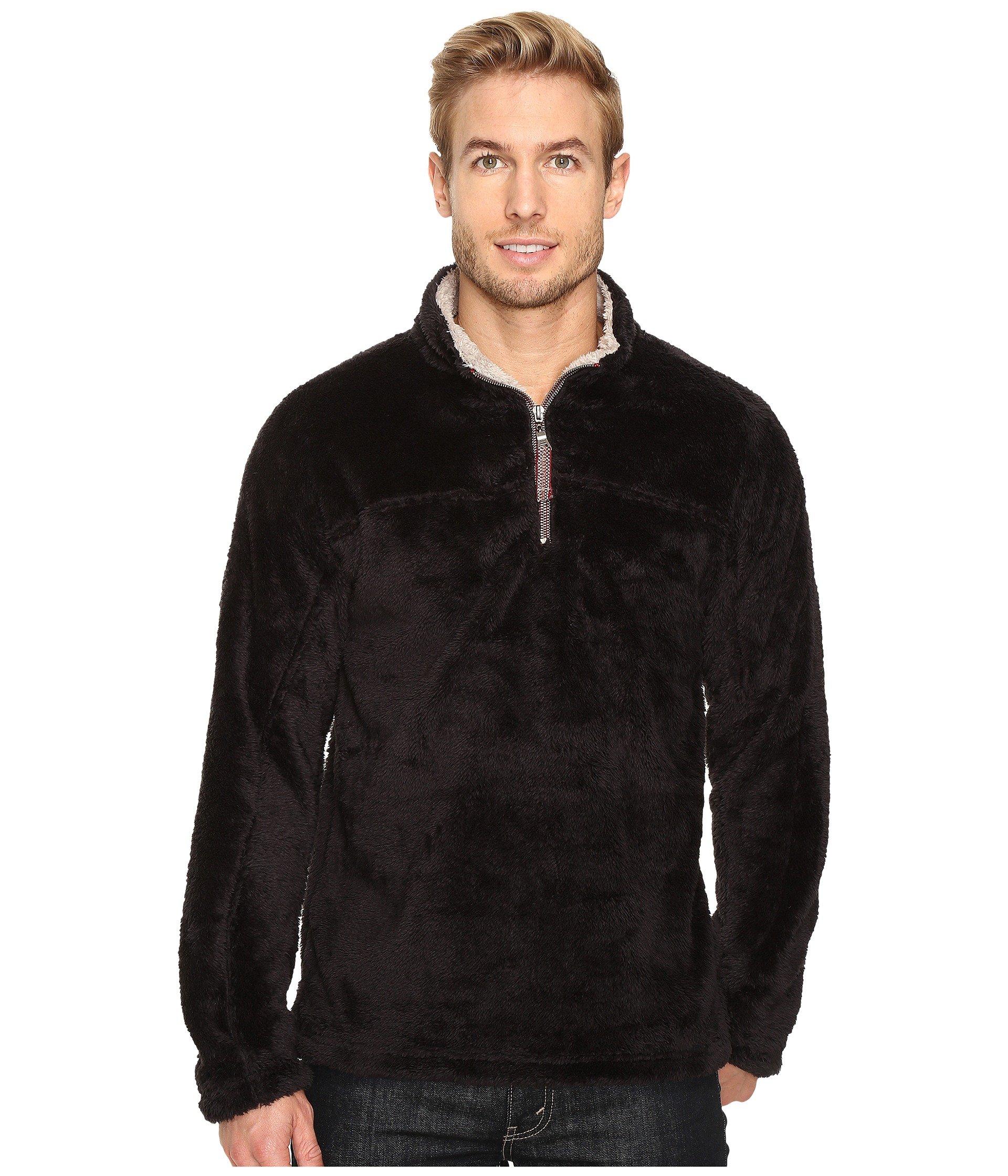 True 4 Double Black 1 Plush Pullover Grit Zip rxqISwrv