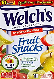 Welch's Apple Orchard Medley Piece Fruit Snack, 9 oz