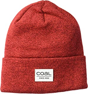 Coal Mens The Standard Classic Cuffed Fine Knit Beanie Hat Beanie Hat