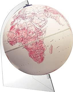 clear world globe